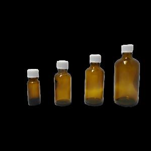 Apothekerflasche aus Braunglas