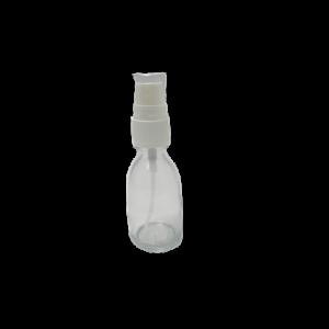 Apothekerflasche aus Klarglas