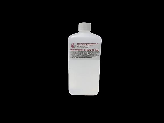 Zitronensäure Lösung 50%